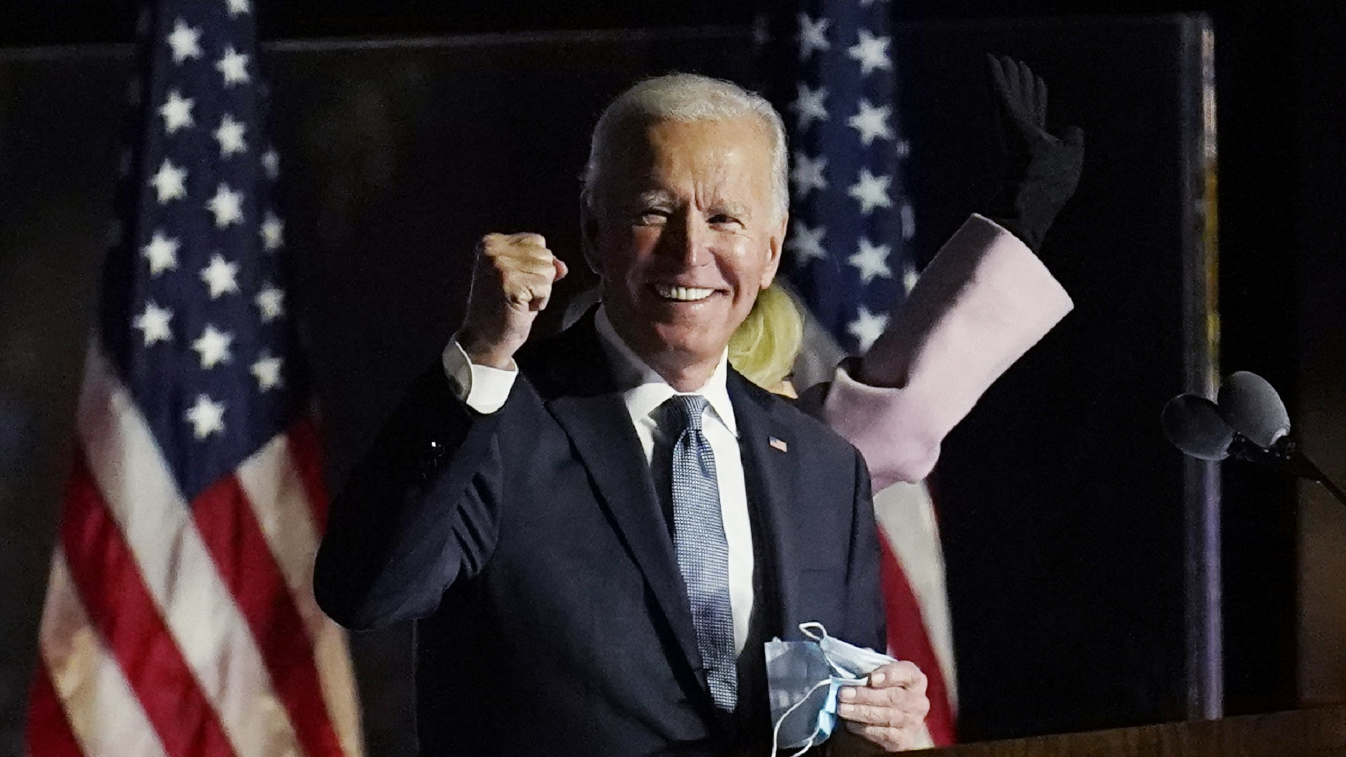 Biden takes the helm as president: 'Democracy has prevailed'