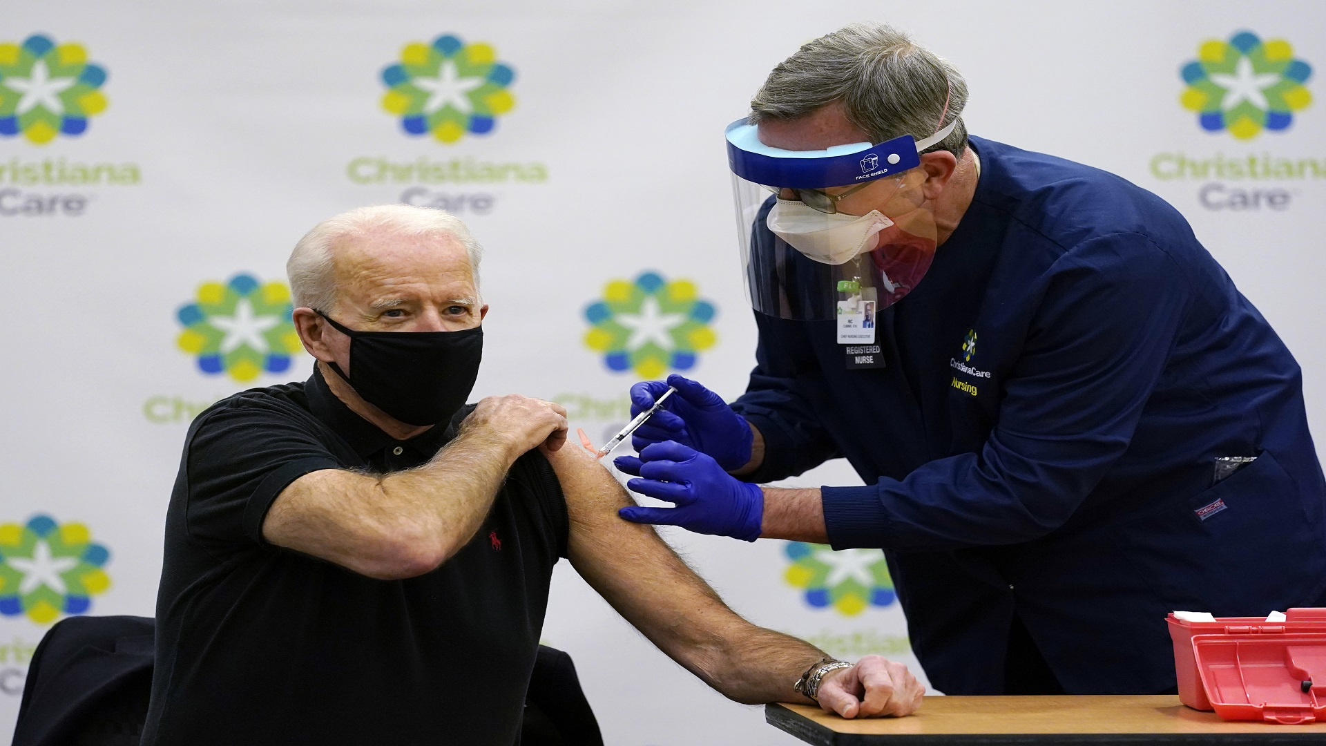 Biden gets 2nd dose of vaccine as team readies COVID-19 plan